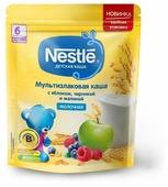 Каша Nestlé молочная мультизлаковая с яблоком, черникой и малиной (с 6 месяцев) 220 г дойпак