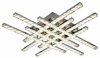 Люстра светодиодная Максисвет Геометрия 1-1669-8-CR Y LED, LED, 144 Вт
