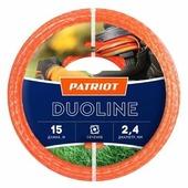 PATRIOT Duoline скрученный квадрат 2.4 мм