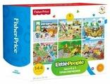 Набор пазлов Fisher-Price Little People Приключения, в ассортименте (FP 37787)