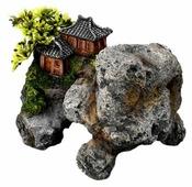 Камень для аквариума Europet Bernina Азиатский домик на скале EPB234-411247 18х13х14 см