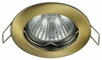 Встраиваемый светильник MAYTONI Metal Modern DL009-2-01-BZ