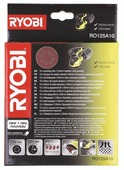 Шлифовальный круг RYOBI RO125A10 125 мм 10 шт