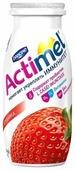 Кисломолочный напиток Actimel клубника 2.5%, 100 г