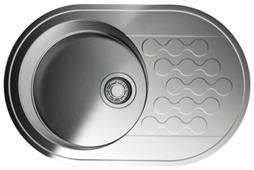 Врезная кухонная мойка OMOIKIRI Kasumigaura 77-IN 4993728 77х48см нержавеющая сталь
