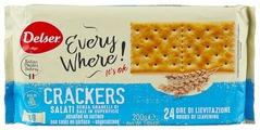 Крекеры Delser Crackers Non Salat без соли, 200 г
