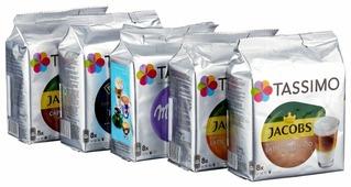 Кофе в капсулах Tassimo набор «Кофе с молоком» (40 капс.)