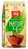 Готовый завтрак Oho! Палочки Natur Life многозлаковые из цельного зерна с отрубями, пакет
