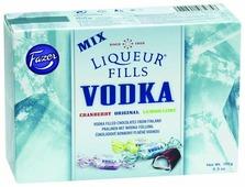 Набор конфет Fazer Liqueur Fills Vodka Mix с водкой ассорти 150 г