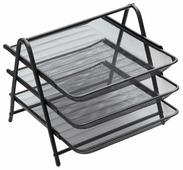 Лоток горизонтальный для бумаги Berlingo Steel&Style BMs_41032 (3 отд.)