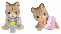Фигурки Sylvanian Families Полосатые котята-двойняшки 5188