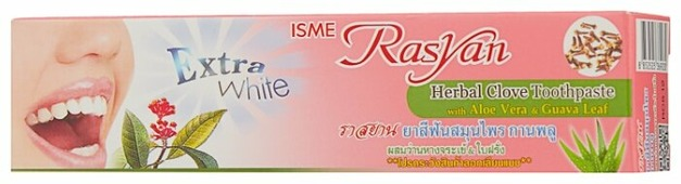 Зубная паста ISME Rasyan травяная гвоздичная с алоэ вера и листьями гуавы