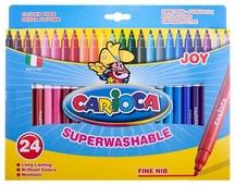 Carioca Набор фломастеров Joy, 24 шт. (40615)