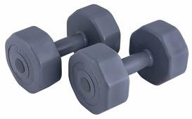 Набор гантелей цельнолитых ATEMI AD-02-10 2x5 кг