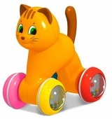 Каталка-игрушка Stellar Котик (01931)