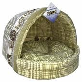 Домик для собак Бобровый Дворик эстрада Коллекция №1 41х36х30 см