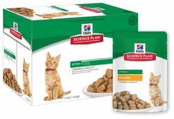 Корм для котят Hill's Science Plan с курицей 85 г (кусочки в соусе)