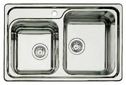 Врезная кухонная мойка Blanco Classic 8 нержавеющая сталь