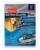 Hartz ошейник от блох и клещей Ultra Guard Plus со светоотражающей полосой для собак и щенков