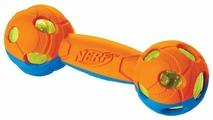 Гантель для собак Nerf двухцветная светящаяся