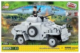 Конструктор Cobi Small Army World War II 2366 Легкая бронемашина Sd.Kfz.222