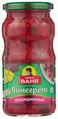 Винегрет традиционный с хрустящими огурчиками Дядя Ваня стеклянная банка 450 г