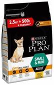 Корм для собак Purina Pro Plan Optibalance для здоровья костей и суставов, курица (для мелких пород)