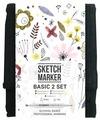 SketchMarker Набор маркеров Basic Set 2, 12 шт.