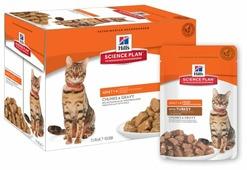 Hill's Корм для кошек Hill s Science Plan для профилактики МКБ, с индейкой 85 г (кусочки в соусе)