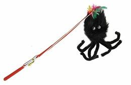 Дразнилка для кошек КАСКАД Удочка с пауком (27754648)