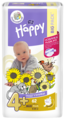 Bella Baby happy подгузники fun 4+ (9-20 кг) 62 шт.