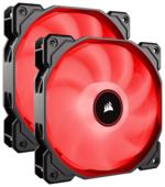 Система охлаждения для корпуса Corsair Air Series AF140 LED (2018) Red Twin Pack