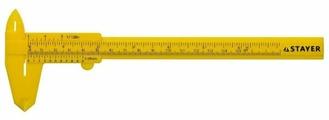 Нониусный штангенциркуль STAYER 3440_z01 150 мм, 0.05 мм