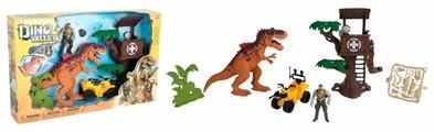 Игровой набор Chap Mei Охотник на динозавра Дом на дереве 542087