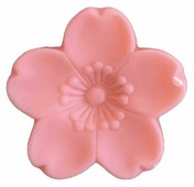 Master Soap Co. Мыло кусковое Master Soap Цветок ярко-розовый