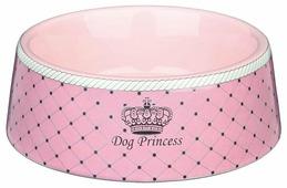 Миска TRIXIE 24581 Princess для собак 0.18 л