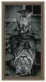 Алмазная живопись Набор алмазной вышивки Тигр внутри (АЖ-1771) 30х60 см
