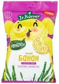 Мини хлебцы рисовые Jr.Korner Спелый банан+цельные злаки 30 г