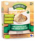 Отруби Helsinki Mills Овсяные органические, 500 г