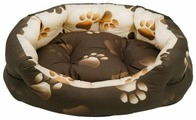 Лежак для собак, для кошек Fauna International Oasis M (FIDB-0116) 61х61х20 см
