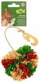 Игрушка для грызунов Fauna International Венок 10х5см кукуруза