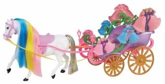 1 TOY Карета с лошадью (Т53234)