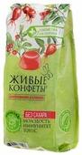 Мармелад Лакомства для здоровья Живые конфеты Шиповник и клюква 170 г