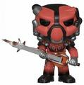 Фигурка Funko POP! Fallout 76: Красная силовая броня X-01 39036