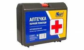Аптечка автомобильная KRAFT KT-830100
