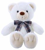 Мягкая игрушка Softoy Медведь белоснежный 32 см