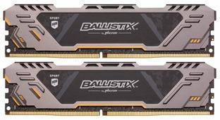 Оперативная память 8 ГБ 2 шт. Ballistix BLS2C8G4D26BFSTK