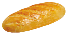 Клинский хлебокомбинат Батон нарезной без упаковки 380 г