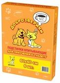 Пеленки для кошек Доброзверики для приучения к туалету
