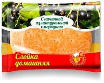 Владимирский хлебокомбинат Слойка Домашняя, черная смородина